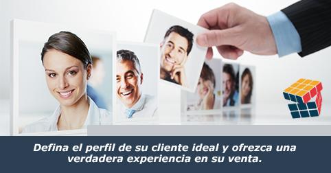 Defina el perfil de su cliente ideal y aumente sus ventas.