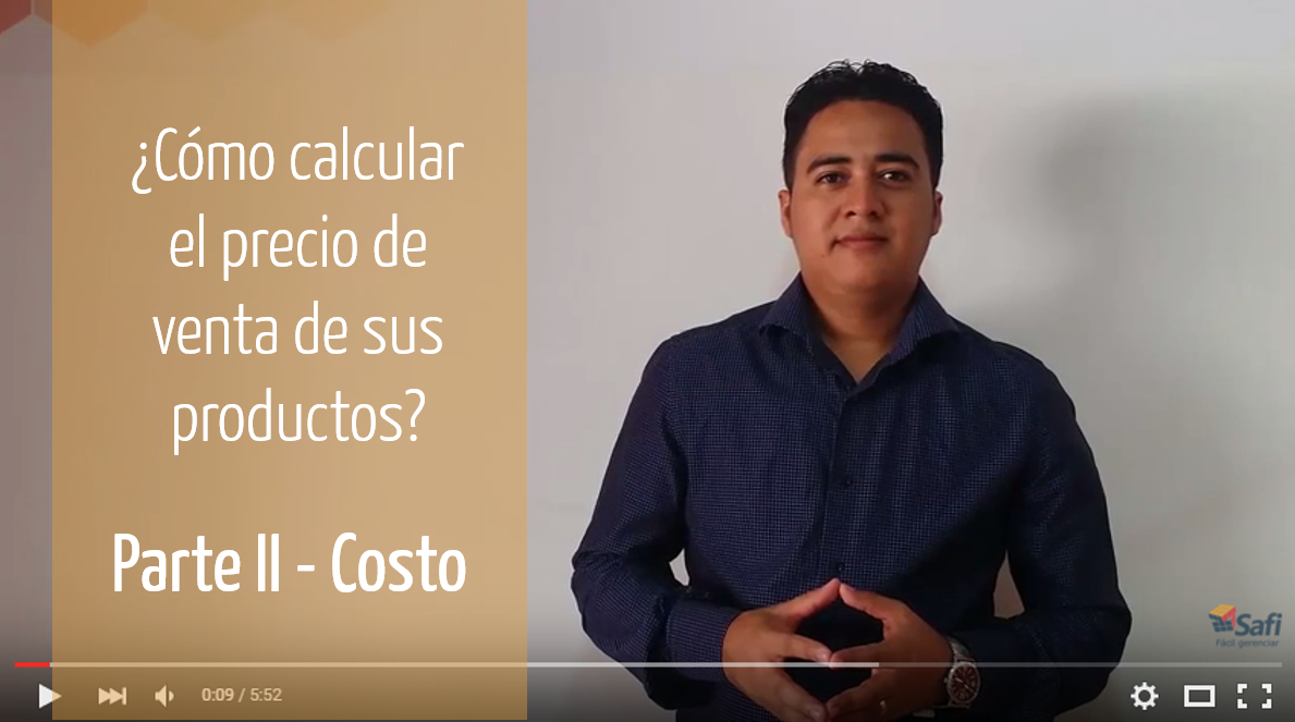 ¿Cómo establecer el costo? – Parte II Precio de venta